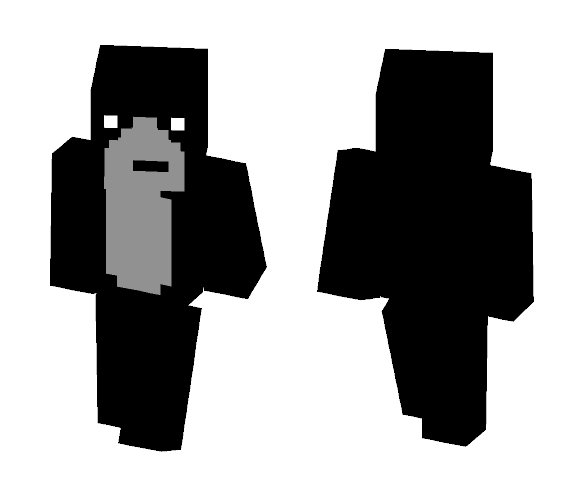 Gorilla - Male Minecraft Skins - image 1