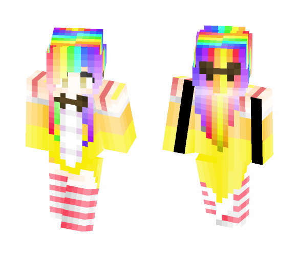 Candy Witch (Contest) - Female Minecraft Skins - image 1
