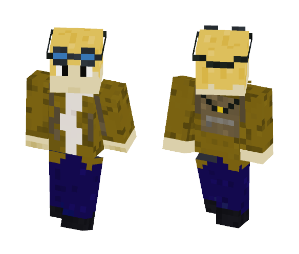 My old skin. - Male Minecraft Skins - image 1