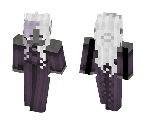 Dark Elfess [LoTC] - Female Minecraft Skins - image 1