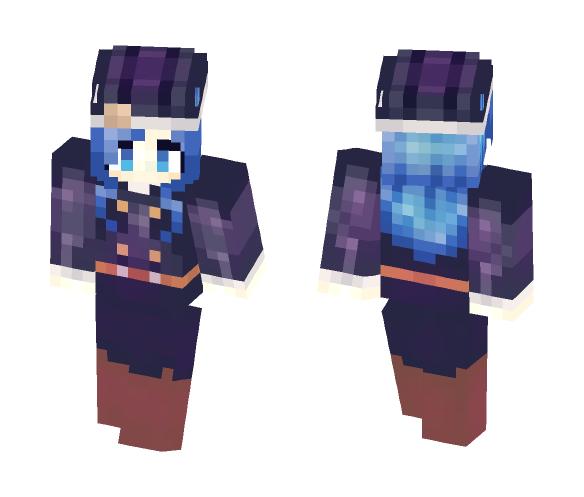 Juvia - Fairy Tail - Female Minecraft Skins - image 1