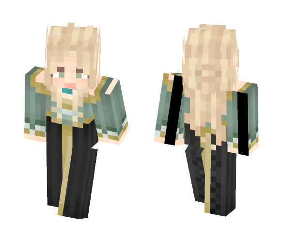 Mint Elfess [LoTC] - Female Minecraft Skins - image 1