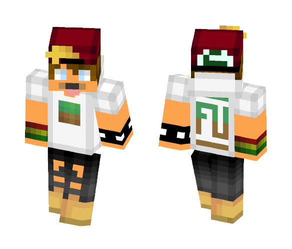 Dirt Block Exo - Male Minecraft Skins - image 1