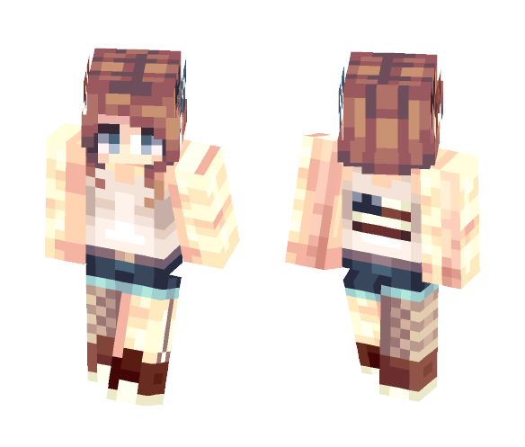 Happy late 4th of July - Female Minecraft Skins - image 1