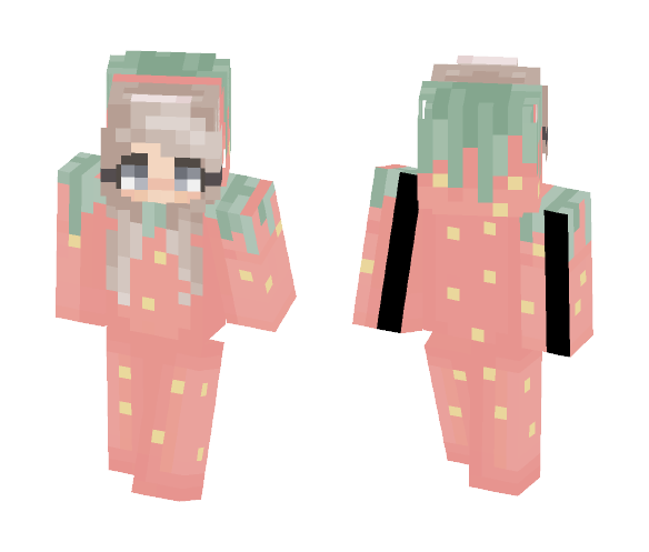 ‹ Strawberry › - Female Minecraft Skins - image 1