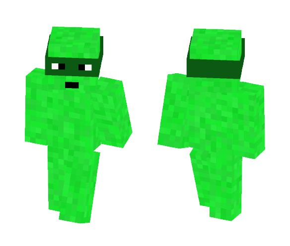 Cartoon Camouflage - Male Minecraft Skins - image 1