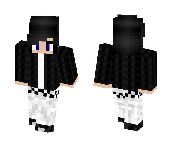 [Autumn] Unisex Emo/Goth - Interchangeable Minecraft Skins - image 1