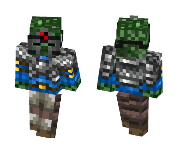 Guerrero Zombie - Other Minecraft Skins - image 1