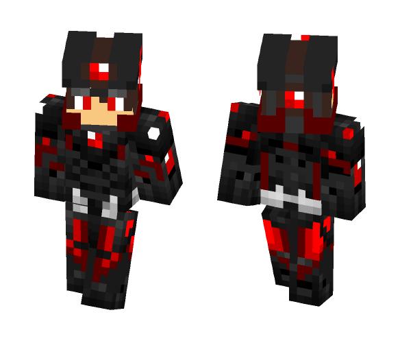 Kirito Dark Armor - Male Minecraft Skins - image 1