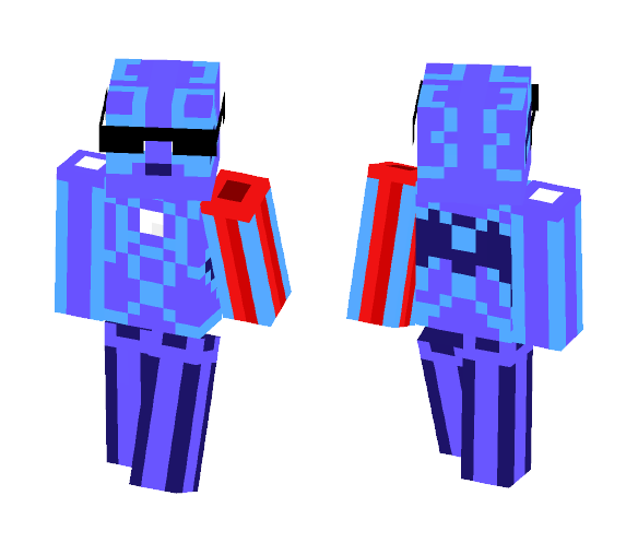 The Void Exterminator - Male Minecraft Skins - image 1