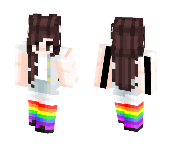 i don't wanna be a hero -- request - Female Minecraft Skins - image 1