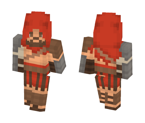 Gladiator Assassin - Male Minecraft Skins - image 1