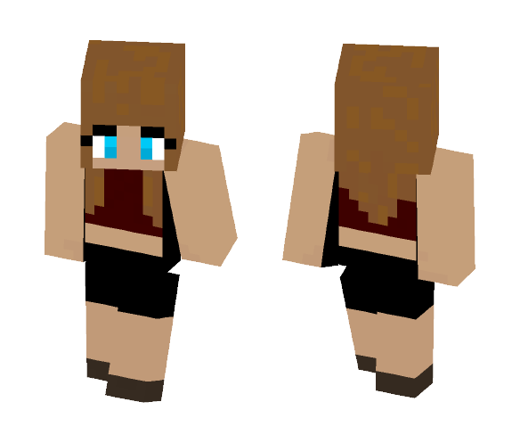 A girl - Girl Minecraft Skins - image 1