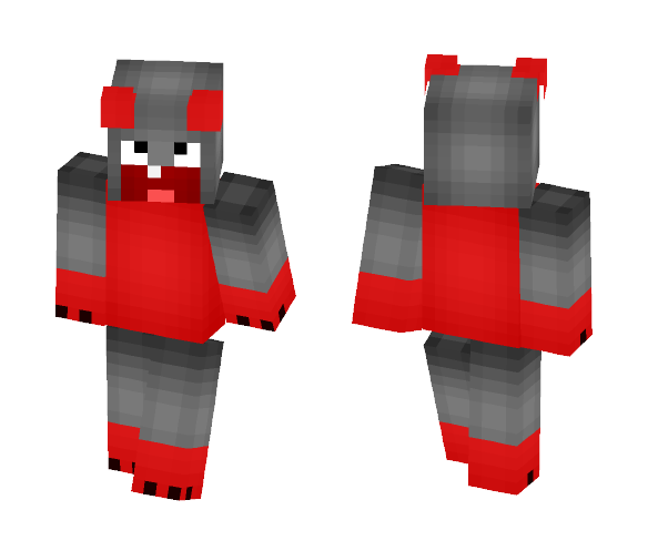 Derp Monster - Male Minecraft Skins - image 1