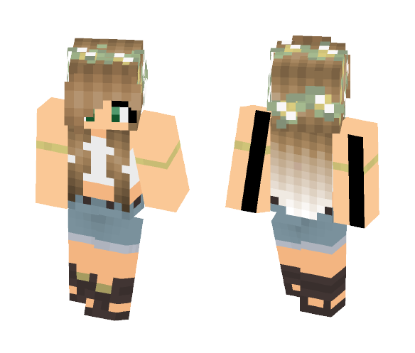 Jess (Request) - Female Minecraft Skins - image 1