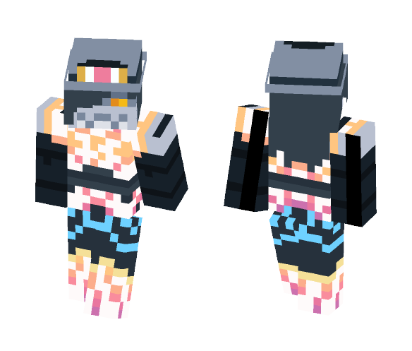 Star Dream (Nekosmeet's design) - Female Minecraft Skins - image 1