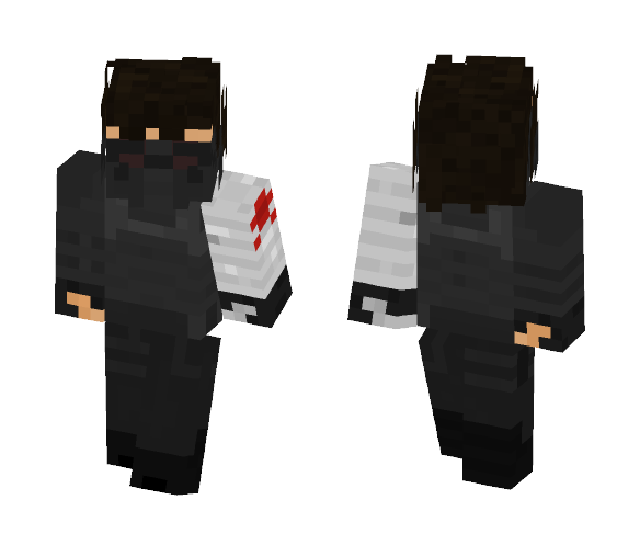 The Winter Soldier - MCU - Male Minecraft Skins - image 1