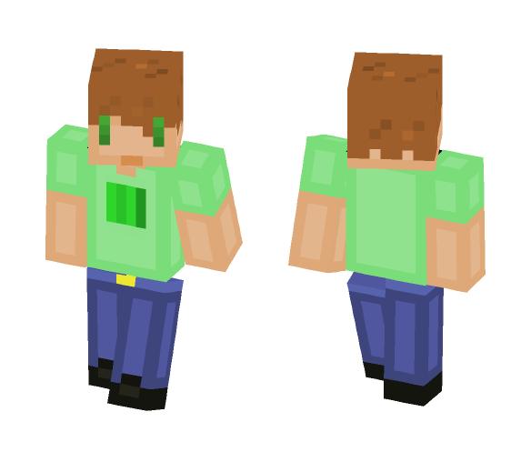 Melon Boy - Boy Minecraft Skins - image 1