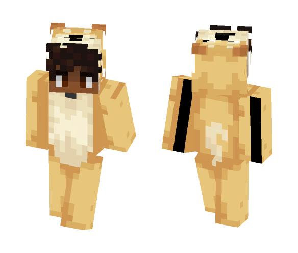 Doge Suit - Male Minecraft Skins - image 1