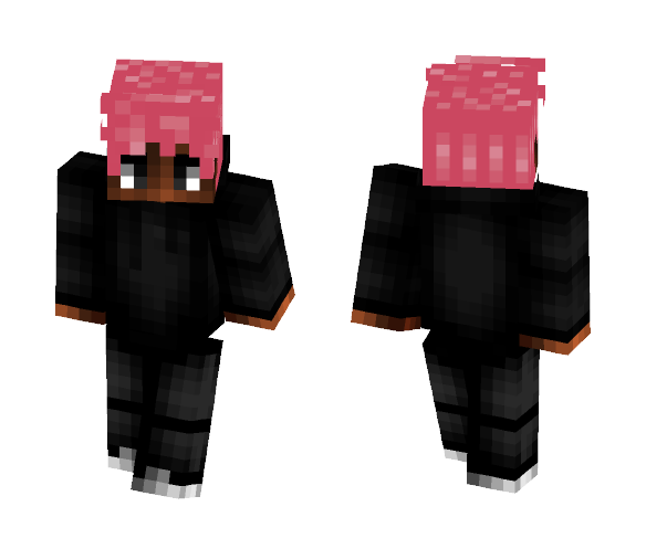 Pink Hair - Male Minecraft Skins - image 1