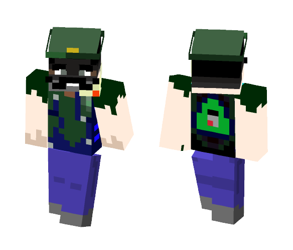 my brother notnot sexyluigi 12 - Other Minecraft Skins - image 1