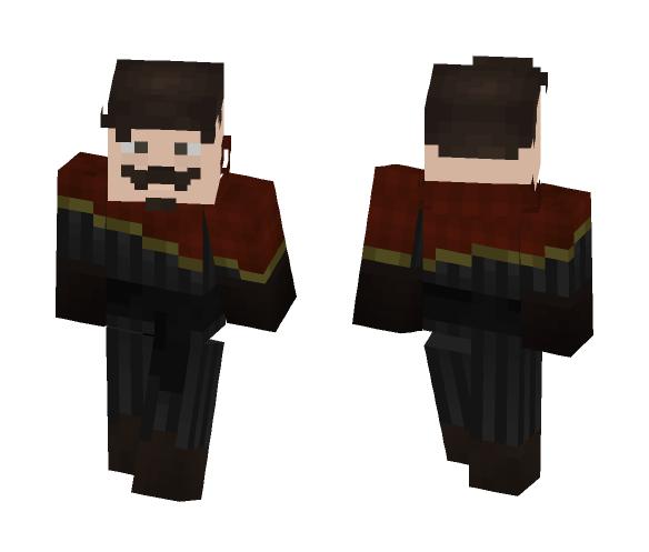 Human Merchant (personal skin) - Male Minecraft Skins - image 1