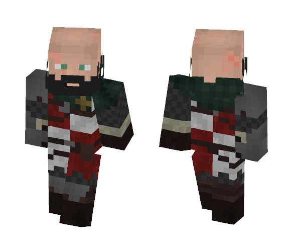 Mercenary (personal skin) - Male Minecraft Skins - image 1