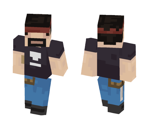 Luke Ignis - Male Minecraft Skins - image 1