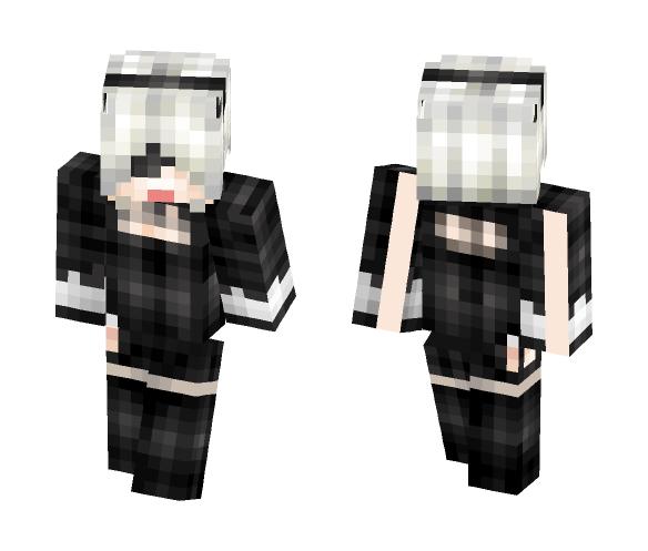 ヨルハ二号B型 - Female Minecraft Skins - image 1