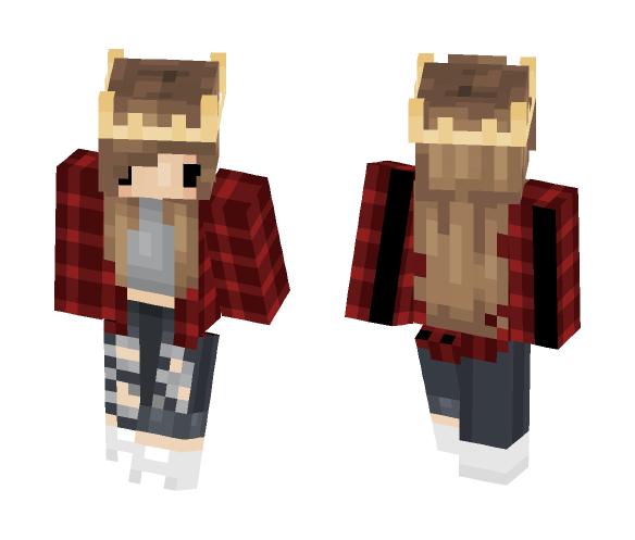 Chibi Girl - Girl Minecraft Skins - image 1