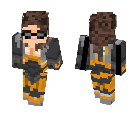 Glory Freeman HALF LIFE 2 - Female Minecraft Skins - image 1