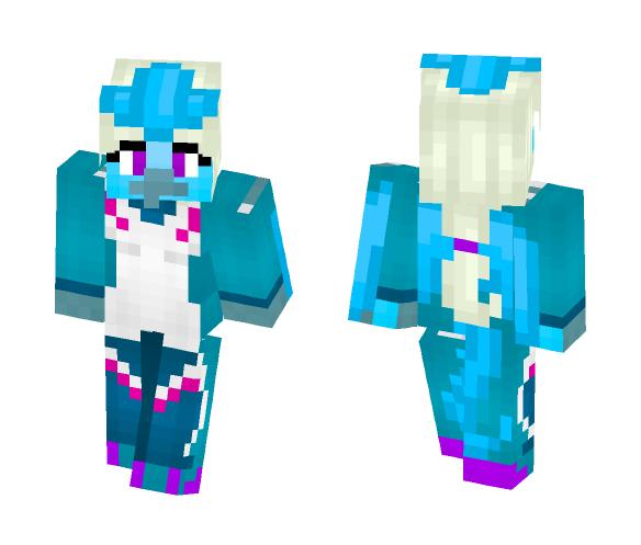 Team Mystic Articuno - Female Minecraft Skins - image 1