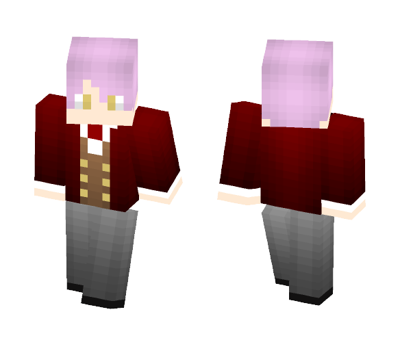Nico Meyer: Midnight Cinderella - Male Minecraft Skins - image 1