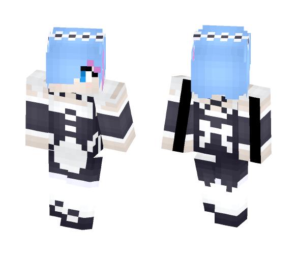 Re Zero: Rem - Female Minecraft Skins - image 1