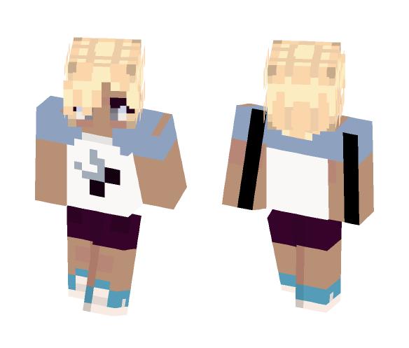craftyGumshoe (charlie) [my oc] - Female Minecraft Skins - image 1