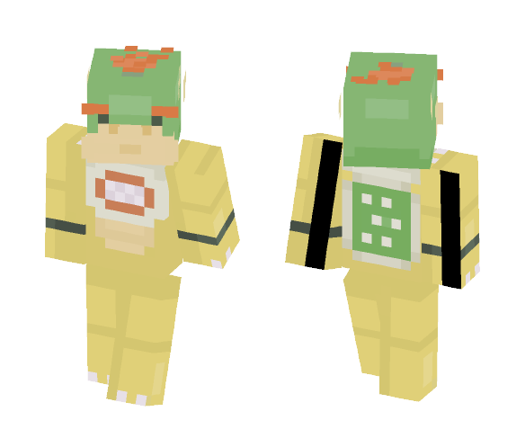 Bowser Jr (Requested) - Male Minecraft Skins - image 1
