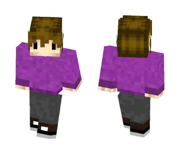 Purple Sweater Grian - Interchangeable Minecraft Skins - image 1