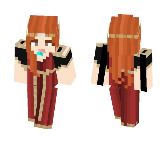 Victoria - Gentle Queen - LOTC - Female Minecraft Skins - image 1
