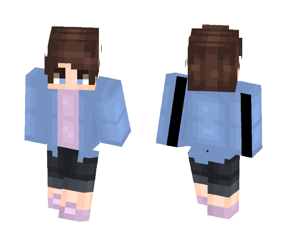 jean jackets - Male Minecraft Skins - image 1