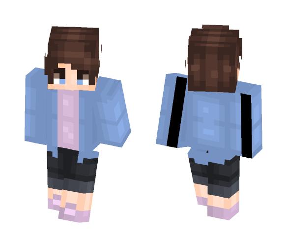 jean jackets - Male Minecraft Skins - image 1