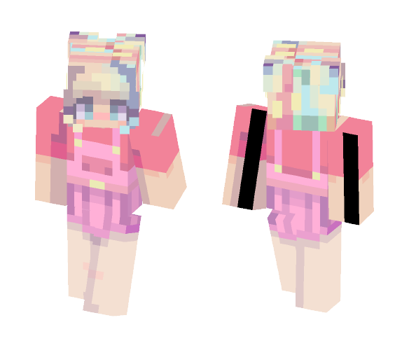 Pastel Dream - Female Minecraft Skins - image 1