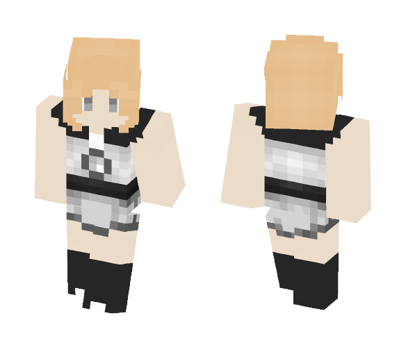 Akoya Pearl [Gemsona] - Female Minecraft Skins - image 1