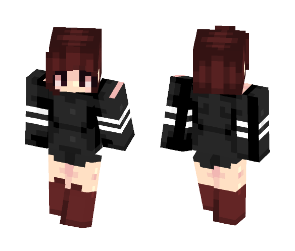 gley ➳ ruby ~ first skin - Female Minecraft Skins - image 1