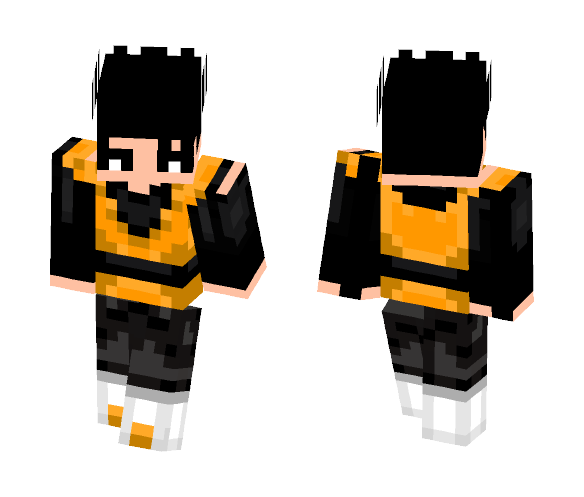 Orange JirenBR - Male Minecraft Skins - image 1