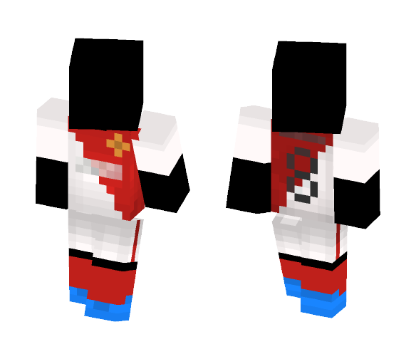 Monaco Kit 2016/17 - Male Minecraft Skins - image 1