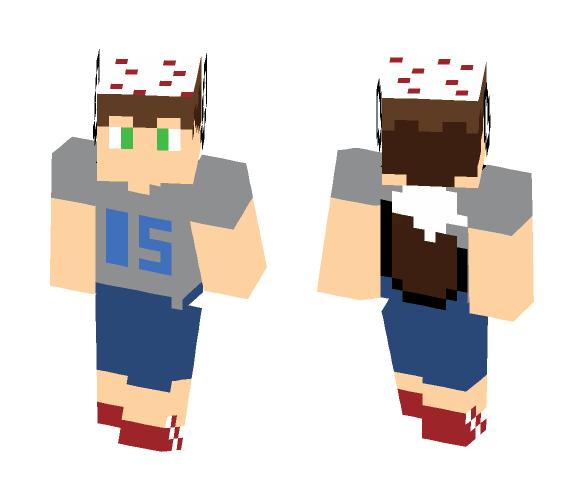 My 15th Birthday skin - Male Minecraft Skins - image 1
