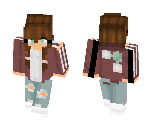 мαιѕнσ- First Skin! - Female Minecraft Skins - image 1