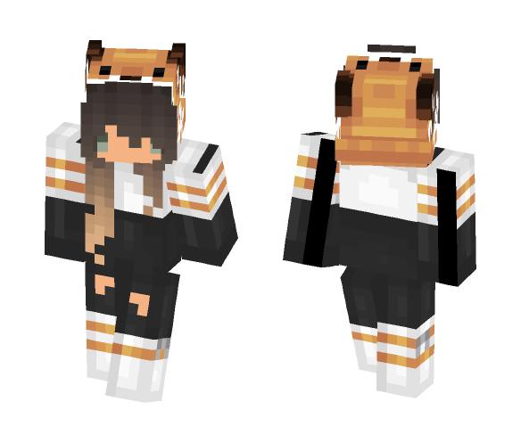 Fox Girl Chibi - Girl Minecraft Skins - image 1