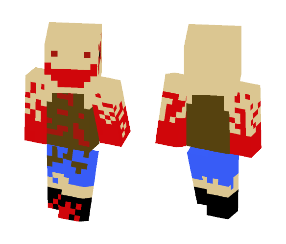 SCARY CROWMAN - Male Minecraft Skins - image 1