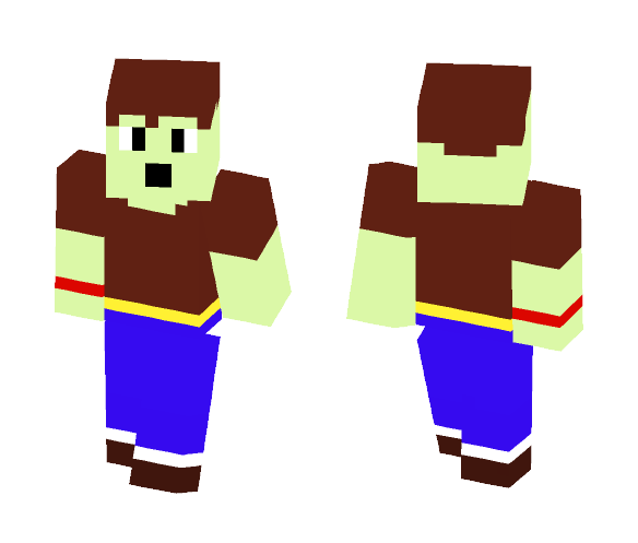 Plastic Adventurer! - Male Minecraft Skins - image 1